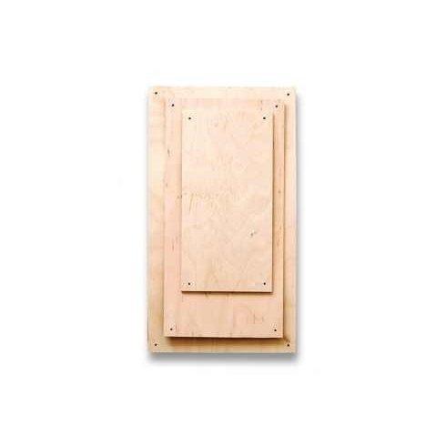 Fa lapok - téglalap  - 16x32cm