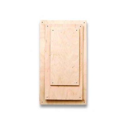 Fa lapok - téglalap - 20x30cm