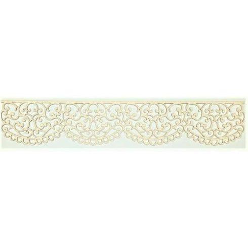 Chipboard - Papír dekoráció - csipke minta1