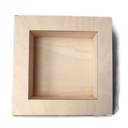 3D képkeret - négyzet
