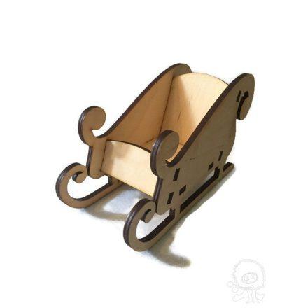 Fa szánkó - 3D
