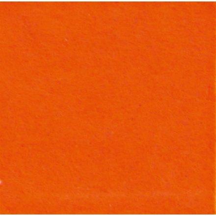1mm-es puha filc lap 40x30cm - narancssárga