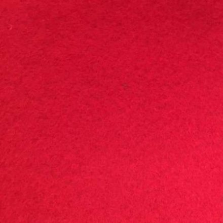 1mm-es puha filc lap 40x30cm - piros