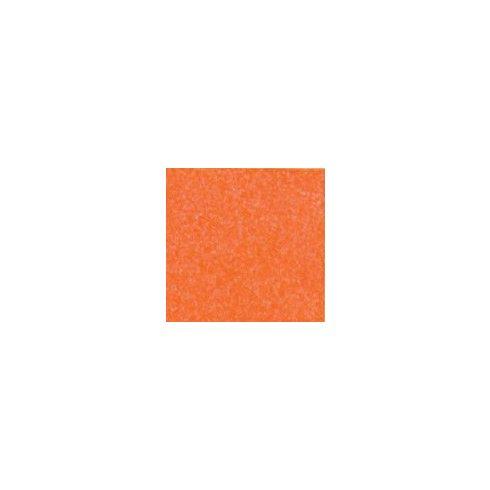 Csillogó, glitteres filc anyag - narancs 40x30cm