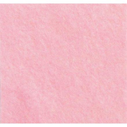 1mm-es puha filc lap 40x30cm - rózsaszín
