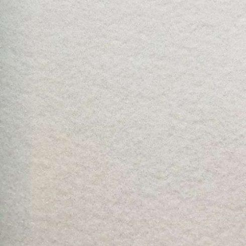 Csillogó, glitteres filc anyag - fehér 40x30cm
