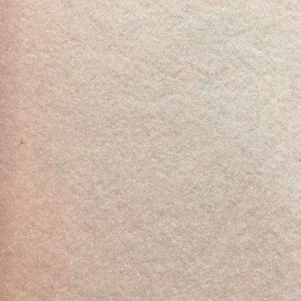 Csillogó, glitteres filc anyag - bézs 40x30cm