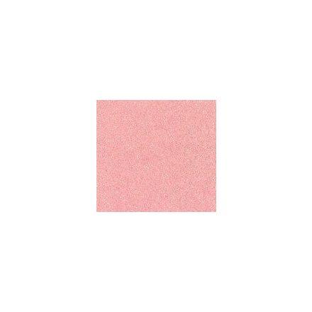 Csillogó, glitteres filc anyag - pasztellrózsa 40x30cm