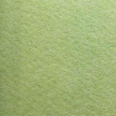 Csillogó, glitteres filc anyag - zsályazöld 40x30cm