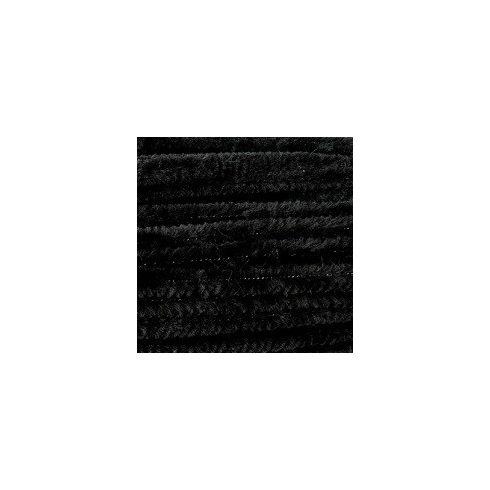 Zsenília drót - fekete