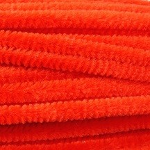 Zsenília drót - piros