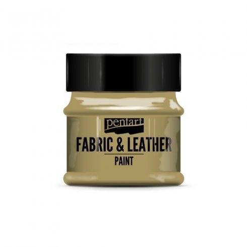 Pentart textil és bőrfesték - csillogó arany