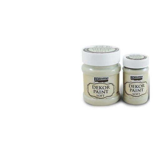 Pentart Dekor Paint Soft - Fehér -  230ml