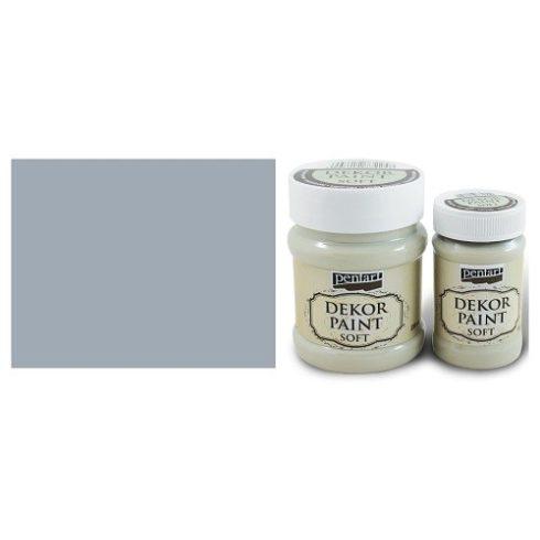 Pentart Dekor Paint Soft - Szürke -  230ml