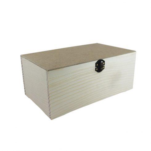 Fa doboz - Csatos doboz