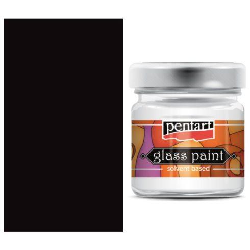 Pentart-oldoszeres-uvegfestek-fekete