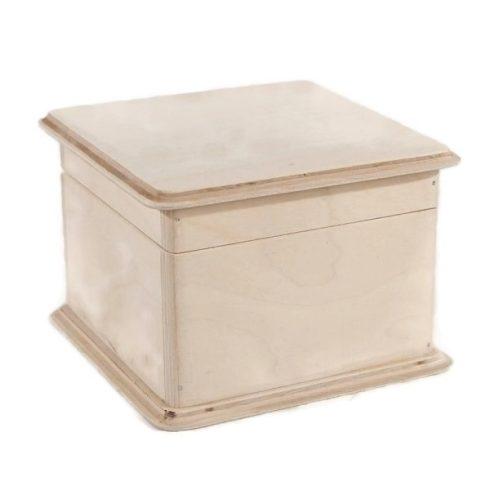 Fa doboz lekerekített