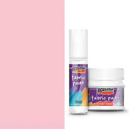 Textilfesték - alap színek - rózsaszín - 20ml