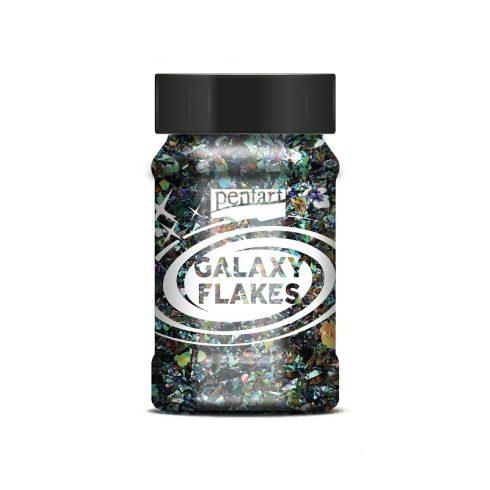 Pentart-Galaxy-pehely-szaturnusz-zold