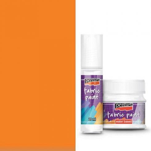 Textilfesték - alap színek - narancs - 20ml