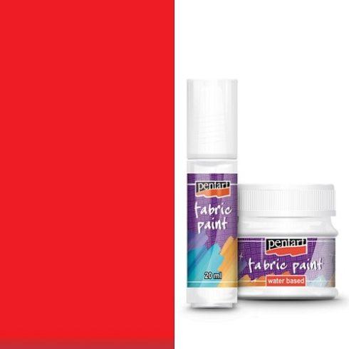 Textilfesték - alap színek - piros - 20ml