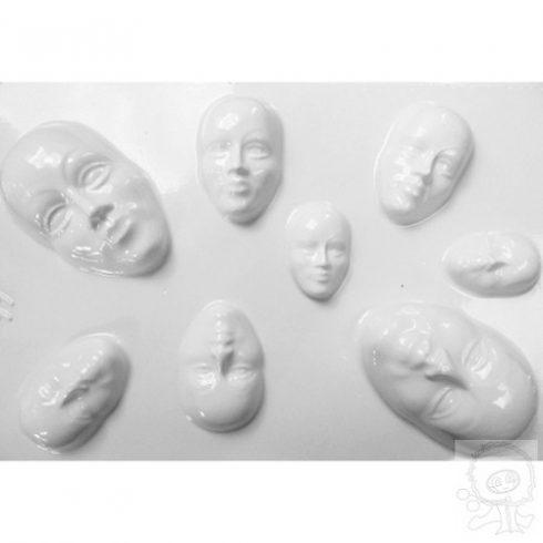 Gipszkionto-forma-mini-maszkok