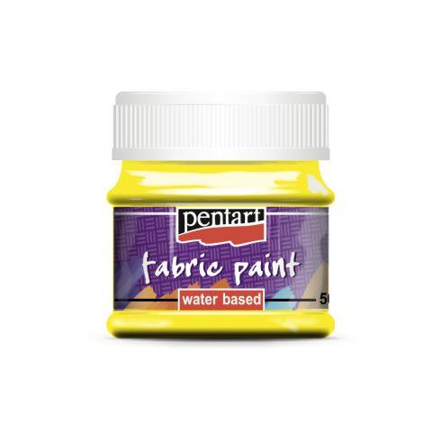 Textilfesték - alap színek - sárga - 50ml