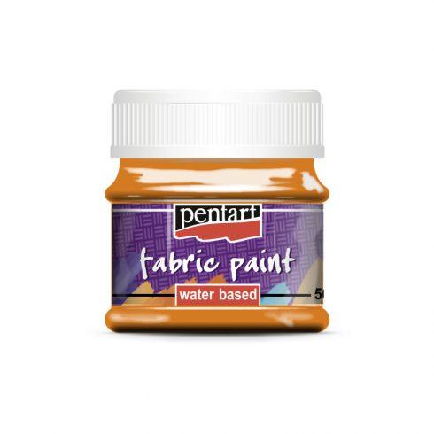 Textilfesték - alap színek - narancs - 50ml