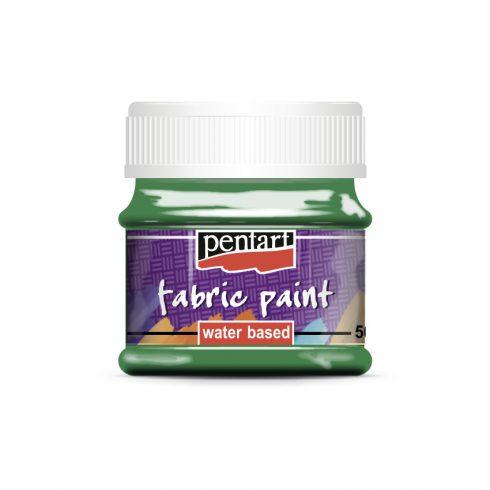 Textilfesték - alap színek - zöld - 50ml
