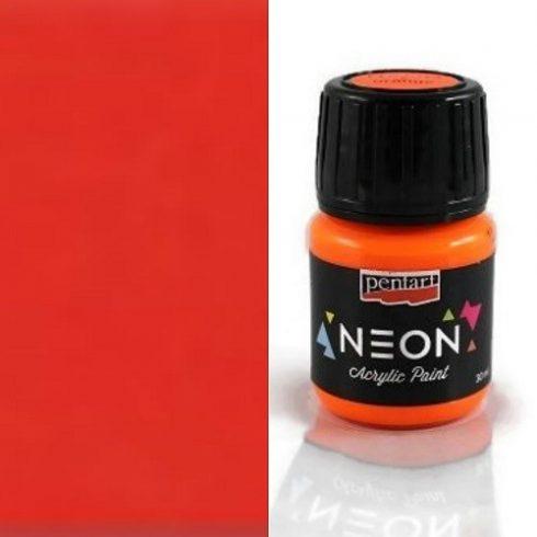 Neon színű akril festék - Narancs
