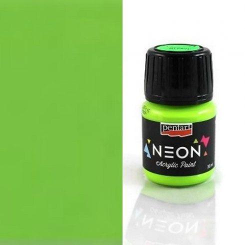 Neon színű akril festék - Zöld