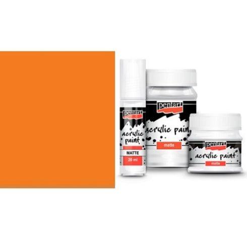 Matt akril festék - Narancs - 20ml