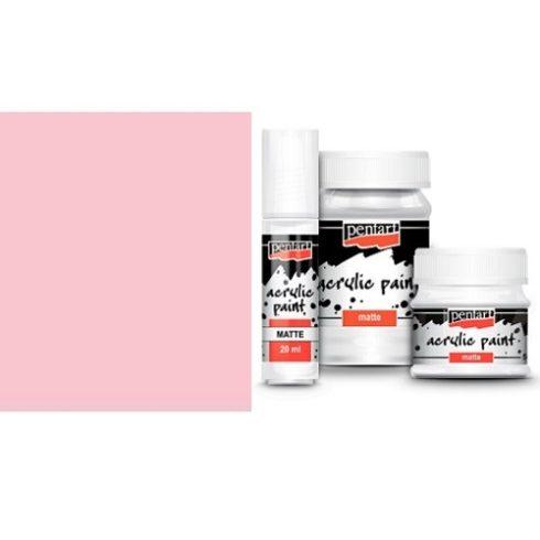 Matt akril festék - Rózsaszín - 20ml