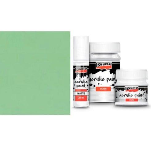 Matt akril festék - Vintage zöld - 20ml