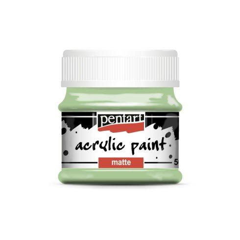 Matt akril festék - Vintage zöld - 50ml