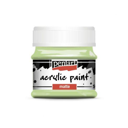 Matt akril festék - Mojito zöld - 50ml