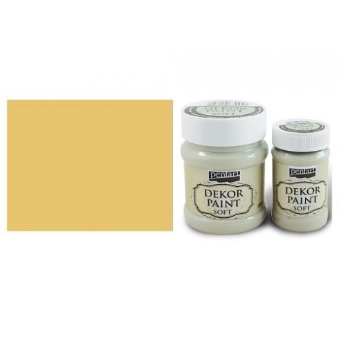 Dekor Paint Soft - Mandarin - 100ml