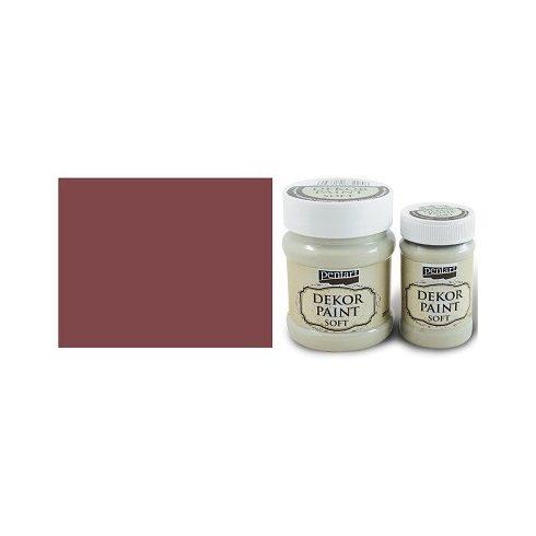 Dekor Paint Soft - Burgundi vörös - 100ml