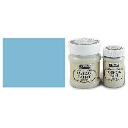 Pentart Dekor Paint Soft - Lenkék -  230ml