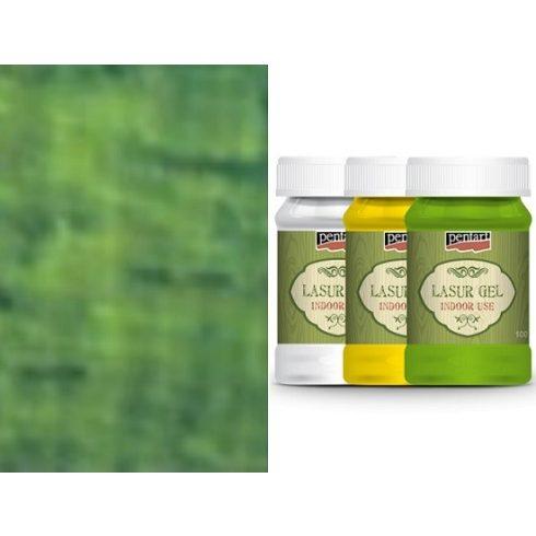 lazúr gél beltérre-oliva