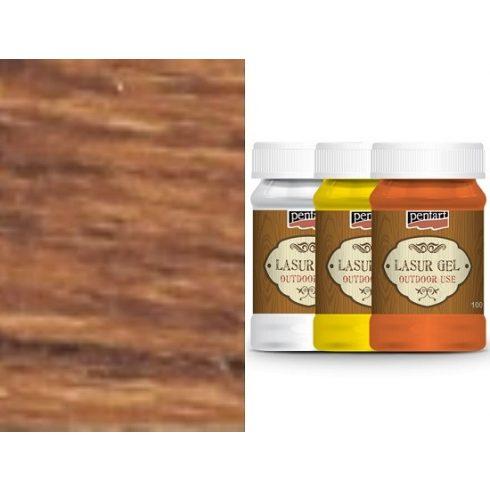 Lazúr gél - kül és beltéri használatra - paliszander