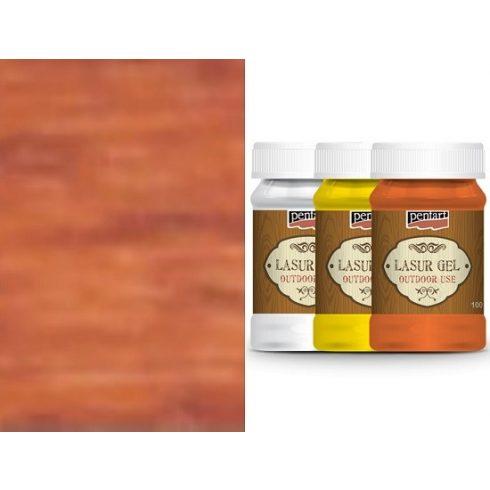 Lazúr gél - kül és beltéri használatra - mahagóni