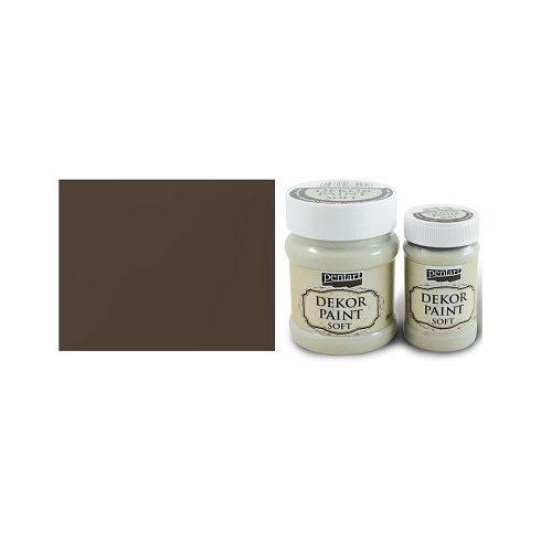 Dekor Paint Soft - Barna - 100ml