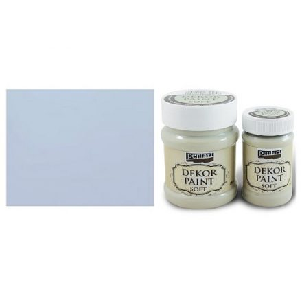 Pentart Dekor Paint Soft - Galambszürke - 100ml