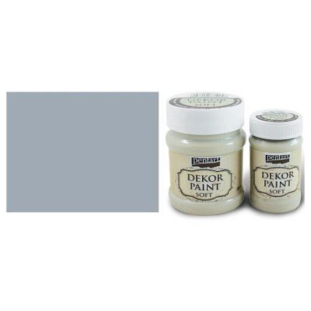 Pentart Dekor Paint Soft - Szürke - 100ml