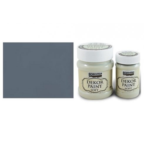 Dekor Paint Soft - Grafit - 100ml