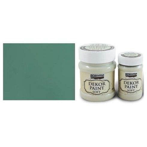 Dekor Paint Soft - Türkiz zöld - 100ml