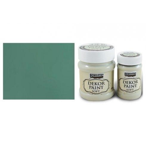 Pentart Dekor Paint Soft - Türkiz zöld - 100ml