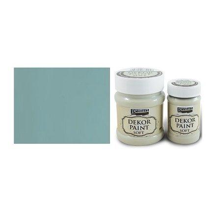 Pentart Dekor Paint Soft - Country kék - 100ml