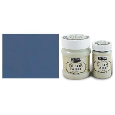 Pentart Dekor Paint Soft - Farmerkék - 100ml